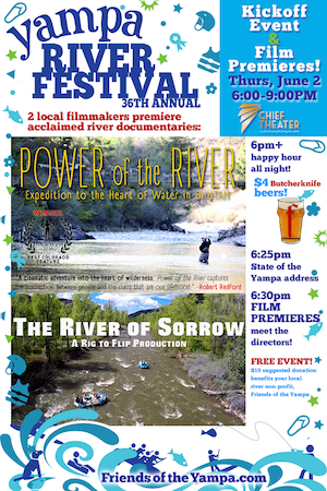 Power of the River Premiere in Steamboat