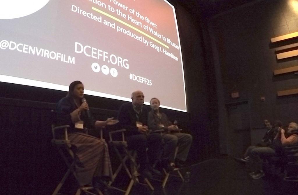 Panel after DC Environmental Film Festival